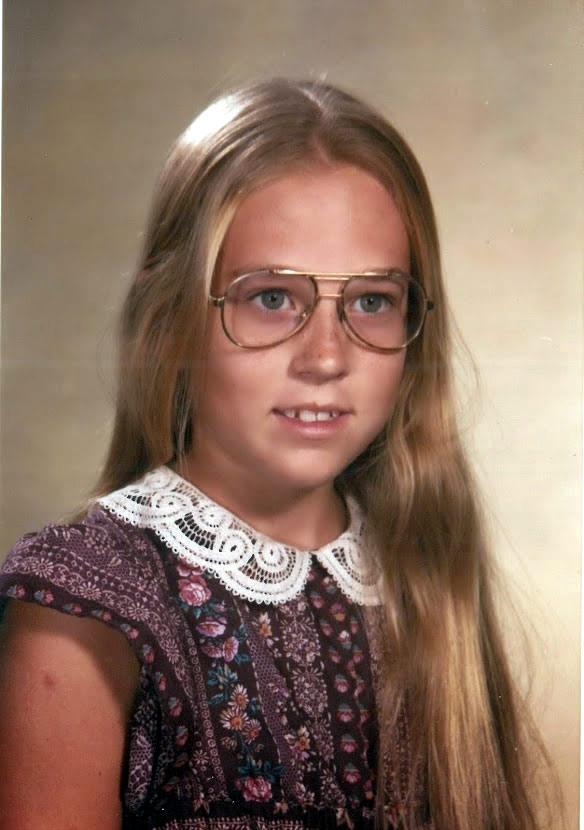 Elisa's last school picture